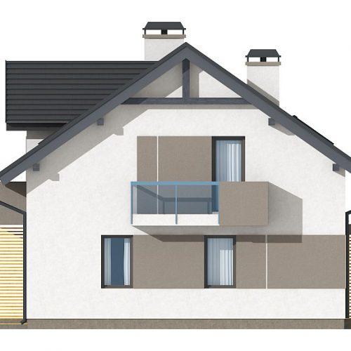 Фасад дома Z65 v2 4