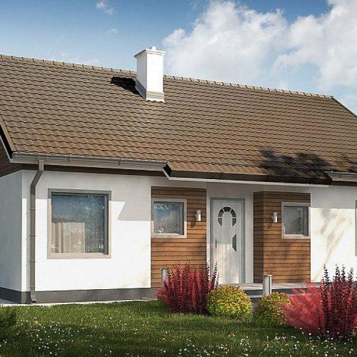 Фото проекта дома Z7 35 S вид с улицы