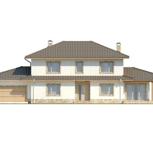 Фасад дома Z74 1
