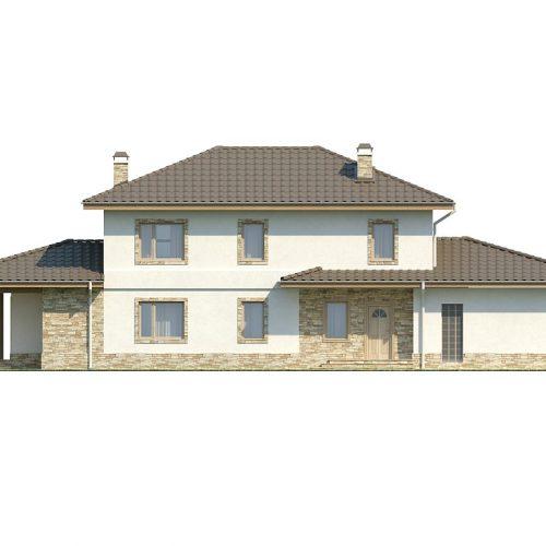 Фасад дома Z74 2