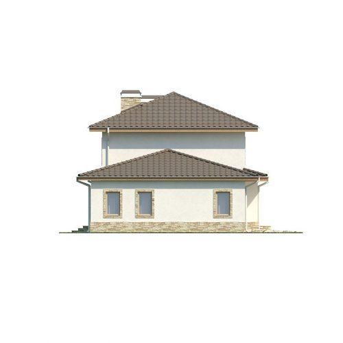 Фасад дома Z74 4