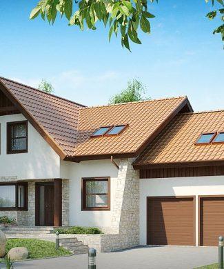Фото проекта дома Z76 вид с улицы