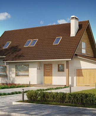 Фото проекта дома Z79 GP вид с улицы
