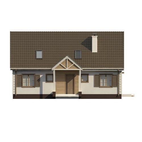 Фасад дома Z8 B 40 1