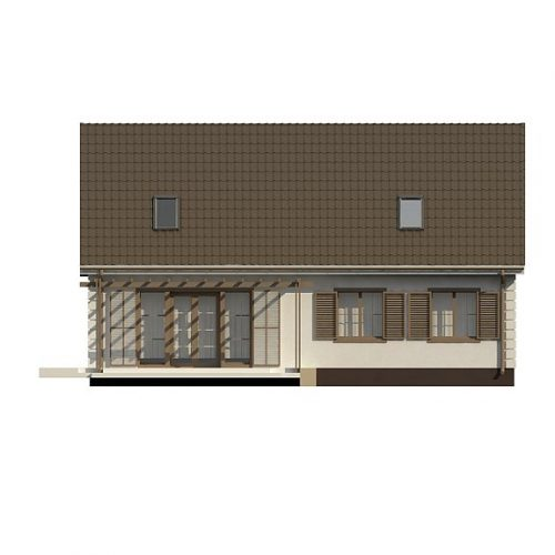 Фасад дома Z8 B 40 4