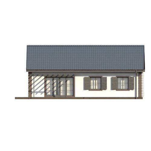 Фасад дома Z8 v2 3