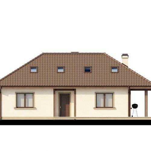 Фасад дома Z85 1