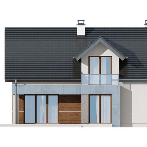 Фасад дома Z89 3
