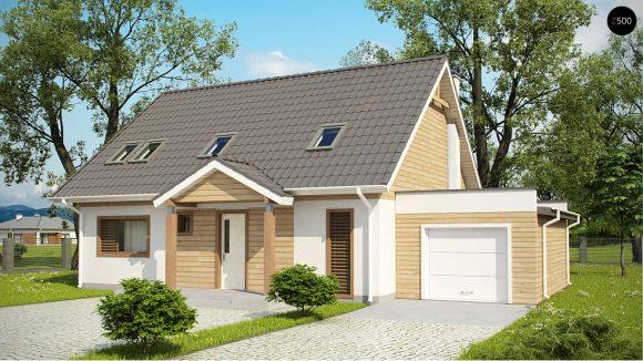 Фото проекта дома Z95 GL вид с улицы