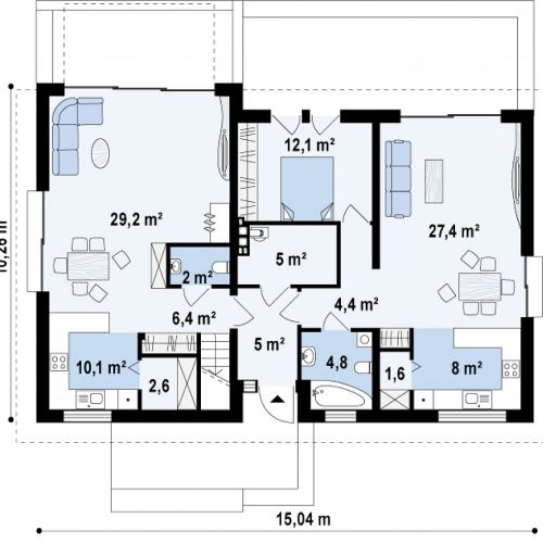План первого этажа проекта Z97