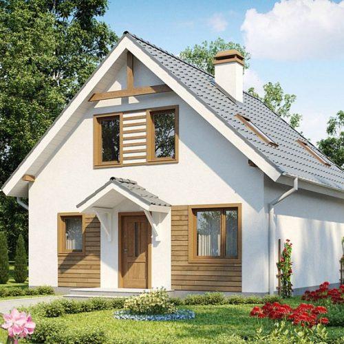 Фото проекта дома Z99 dk вид 2