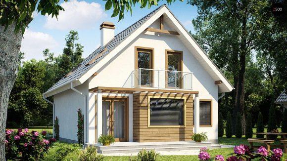 Фото проекта дома Z99 dk вид с улицы