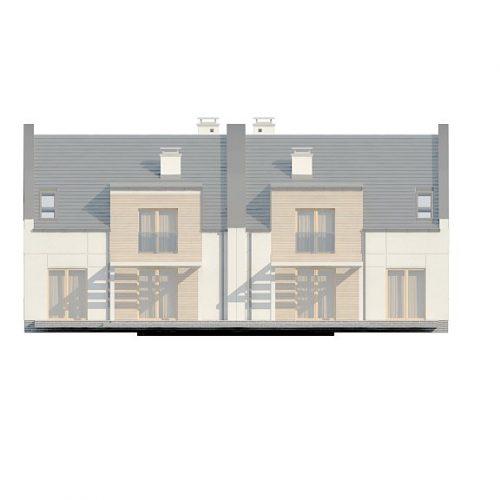 Фасад дома Zb13 4