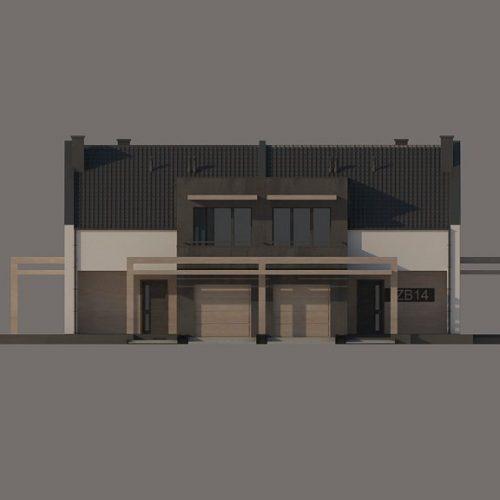 Фасад дома Zb14 1
