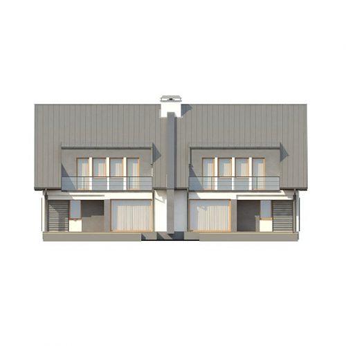 Фасад дома Zb15 1