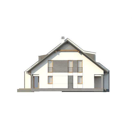 Фасад дома Zb15 4