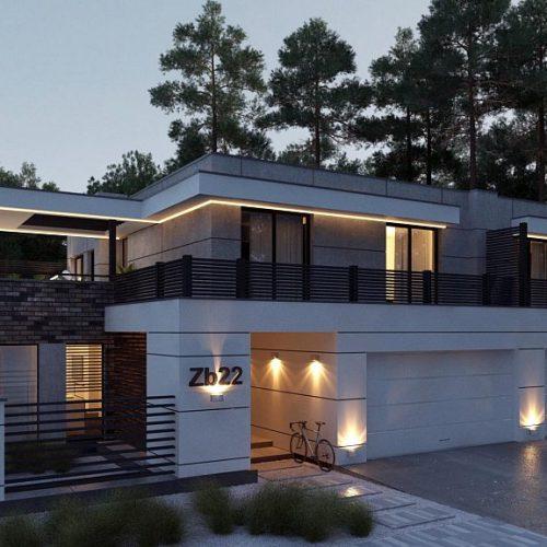 Фото проекта дома Zb22 вид 2