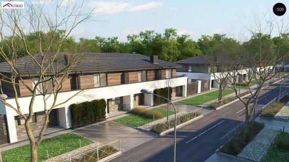 Фото проекта дома Zb23 вид с улицы