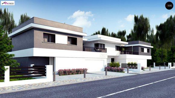 Фото проекта дома Zb27 вид с улицы