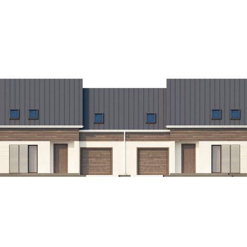 Фасад дома Zb3 1