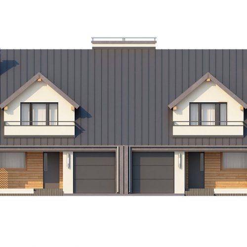 Фасад дома Zb4 1