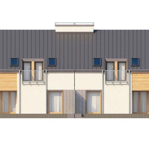 Фасад дома Zb4 2