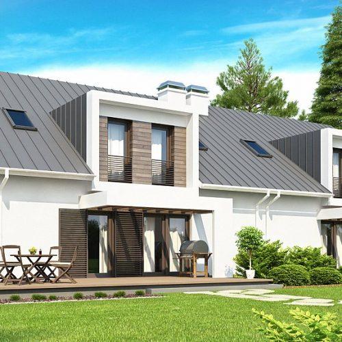 Фото проекта дома Zb6 вид 2