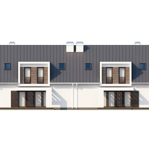 Фасад дома Zb6 2