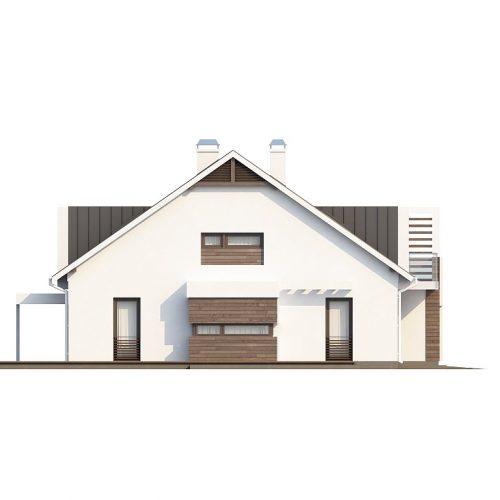 Фасад дома Zb6 3