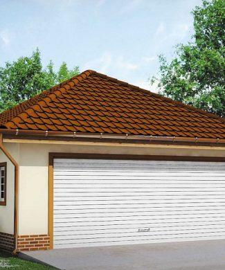 Фото проекта дома Zg15 вид с улицы