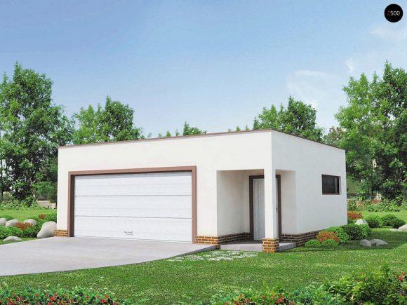 Фото проекта дома Zg21 вид с улицы