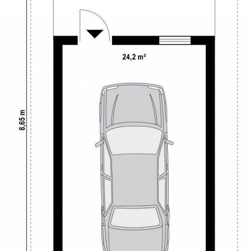 План первого этажа проекта Zg7