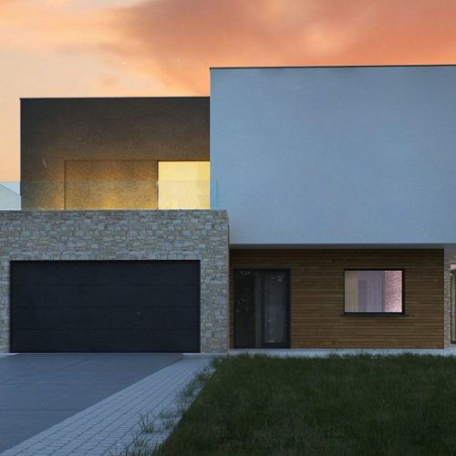 Фото проекта дома Zr17 вид 2