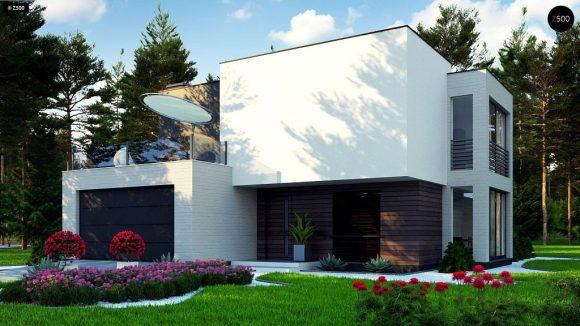 Фото проекта дома Zr17 A вид с улицы