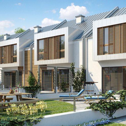 Фото проекта дома Zs1 вид с улицы