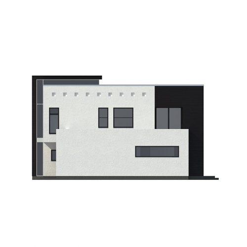Фасад дома Zx1 1