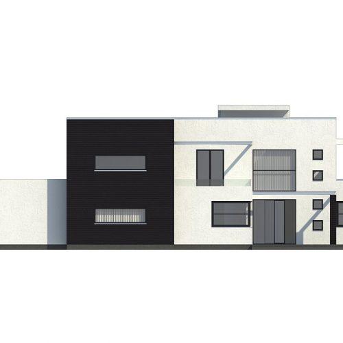 Фасад дома Zx1 2