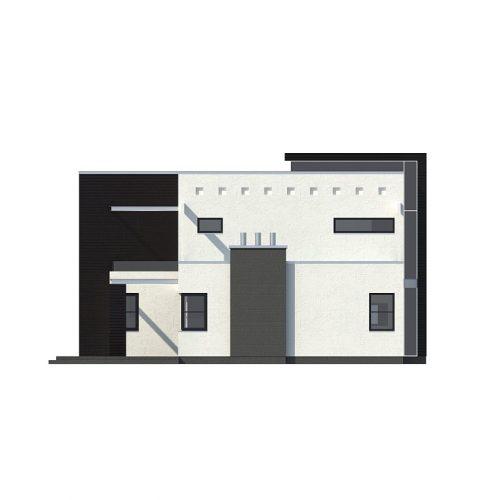 Фасад дома Zx1 3