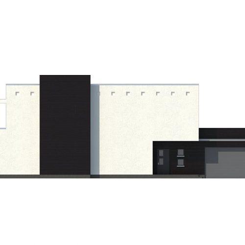 Фасад дома Zx1 4