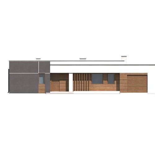 Фасад дома Zx102 GP 1