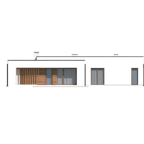 Фасад дома Zx102 GP 3