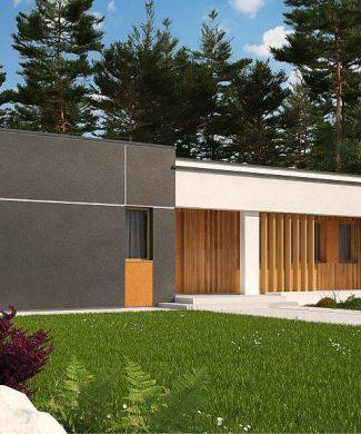 Фото проекта дома Zx102 bG вид с улицы
