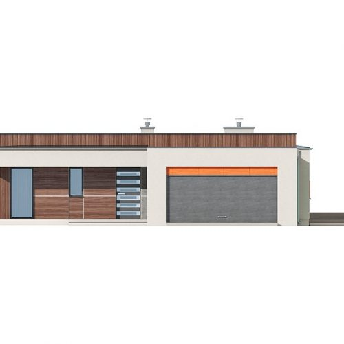 Фасад дома Zx103 1