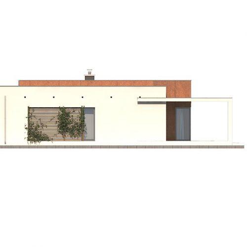 Фасад дома Zx104 1