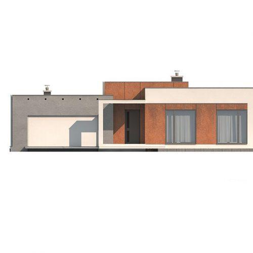 Фасад дома Zx104 2