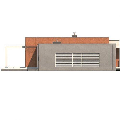 Фасад дома Zx104 3