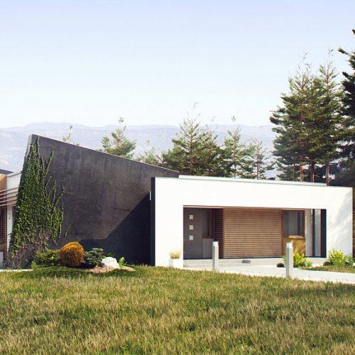 Фото проекта дома Zx106 вид с улицы