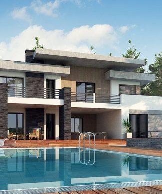 Фото проекта дома Zx107 вид с улицы