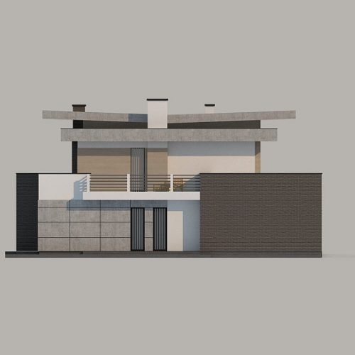 Фасад дома Zx107 2