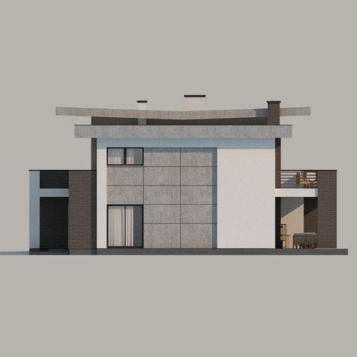 Фасад дома Zx107 4